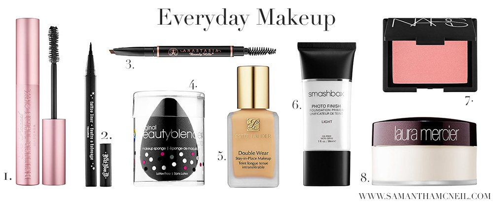 Samantha McNei Blog // VIB Sale - Everyday Makeup