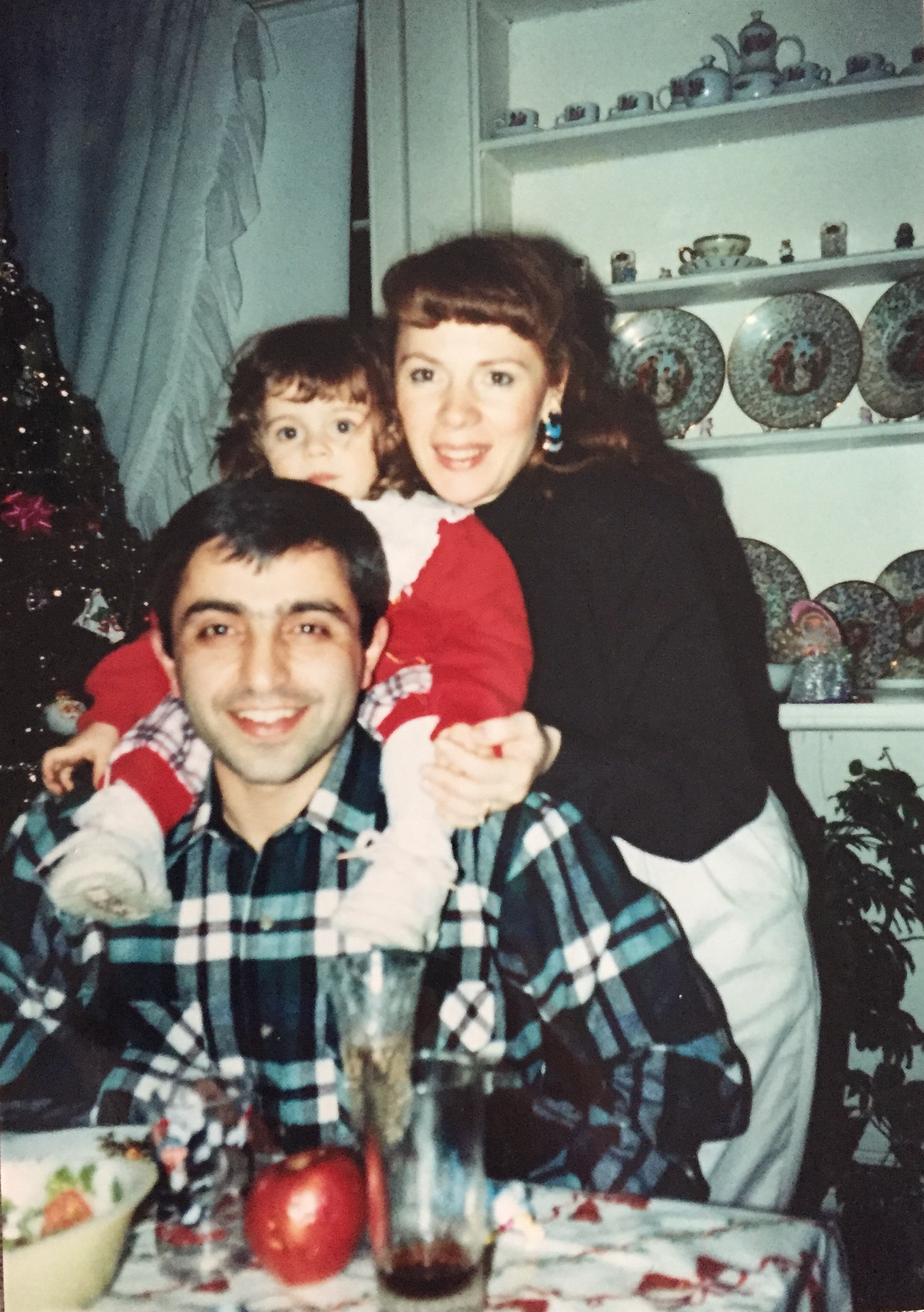 At the table circa 1993.