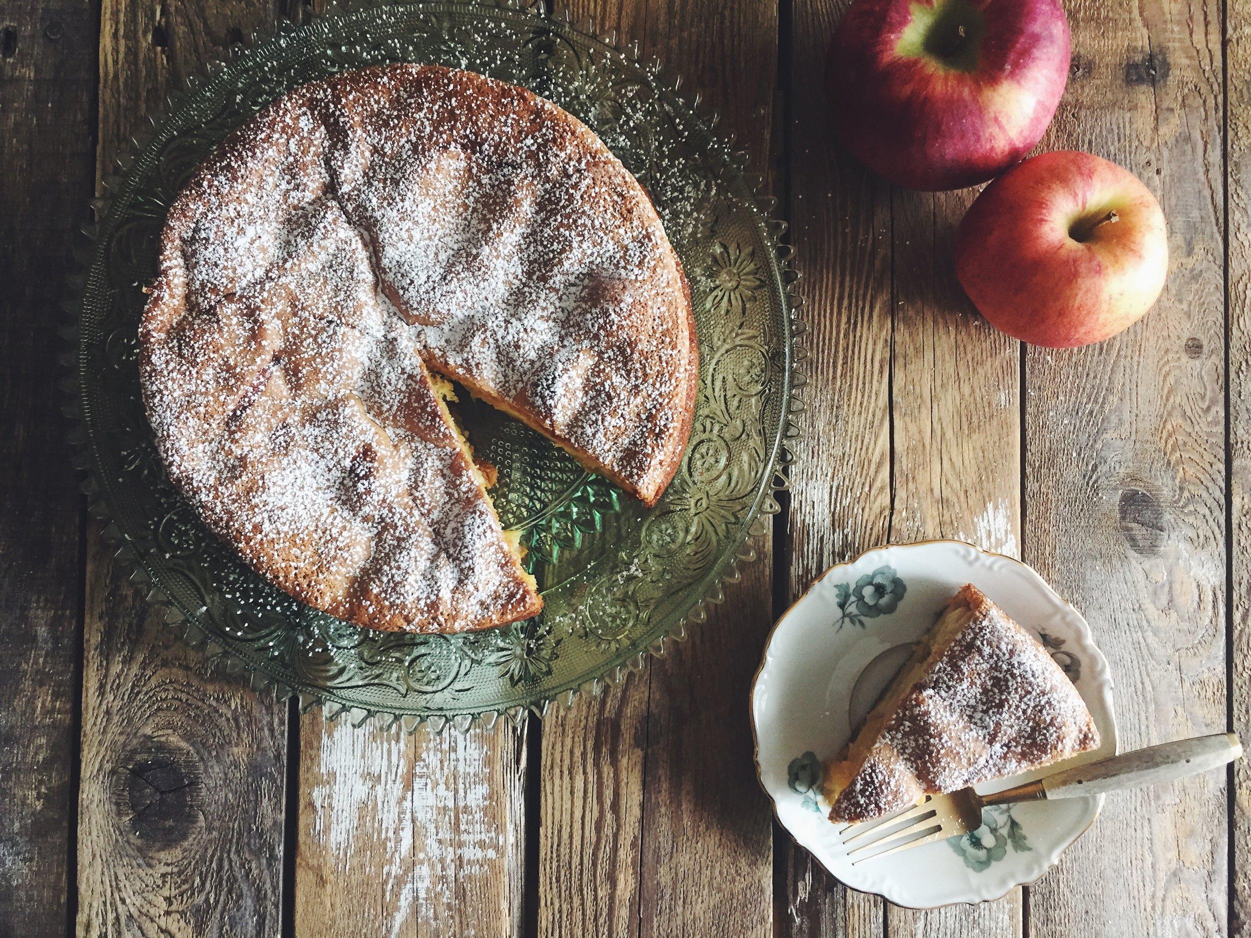 apple sharlotka