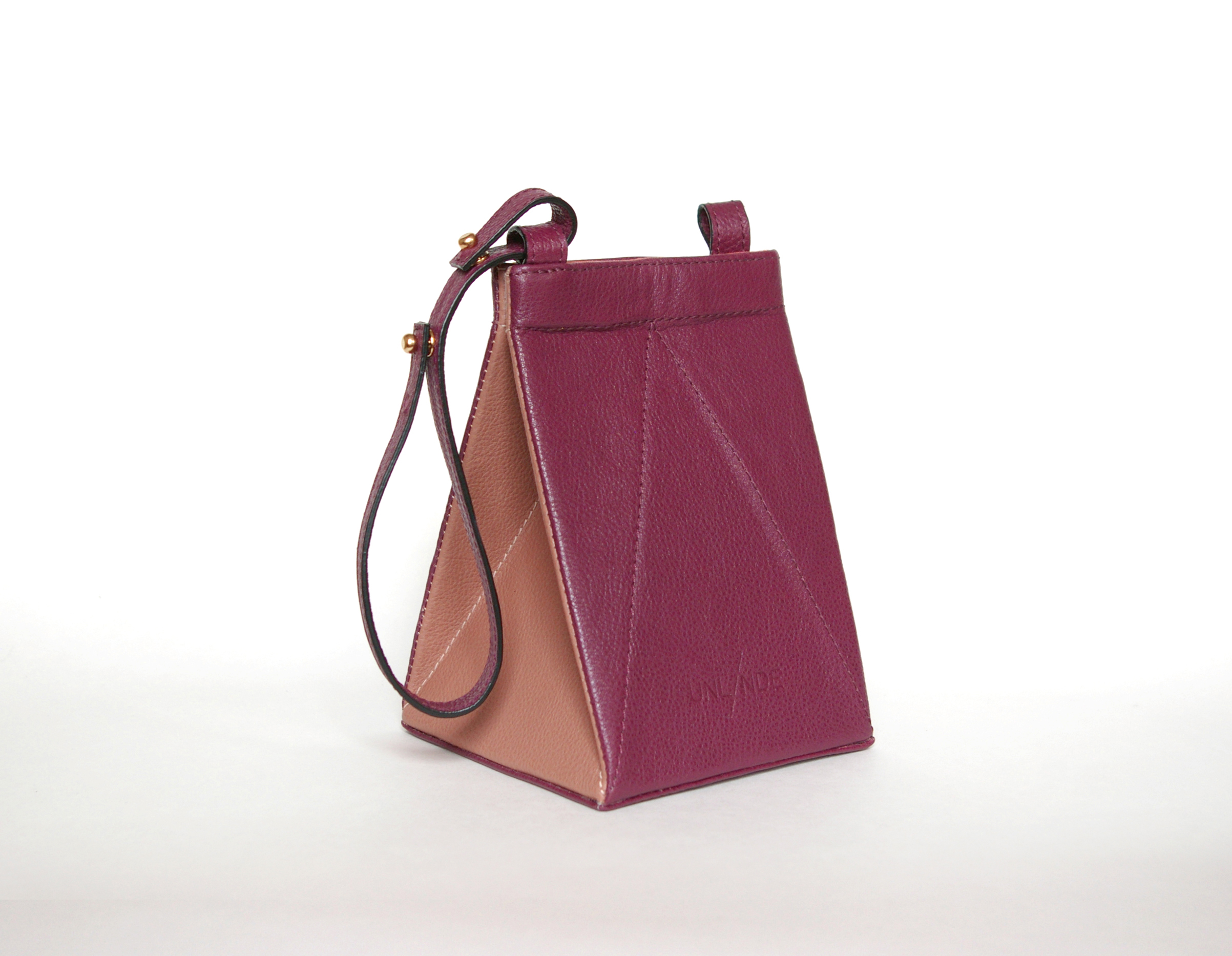 SOLD OUT  TETR4BAG Burgundy/Beige $360