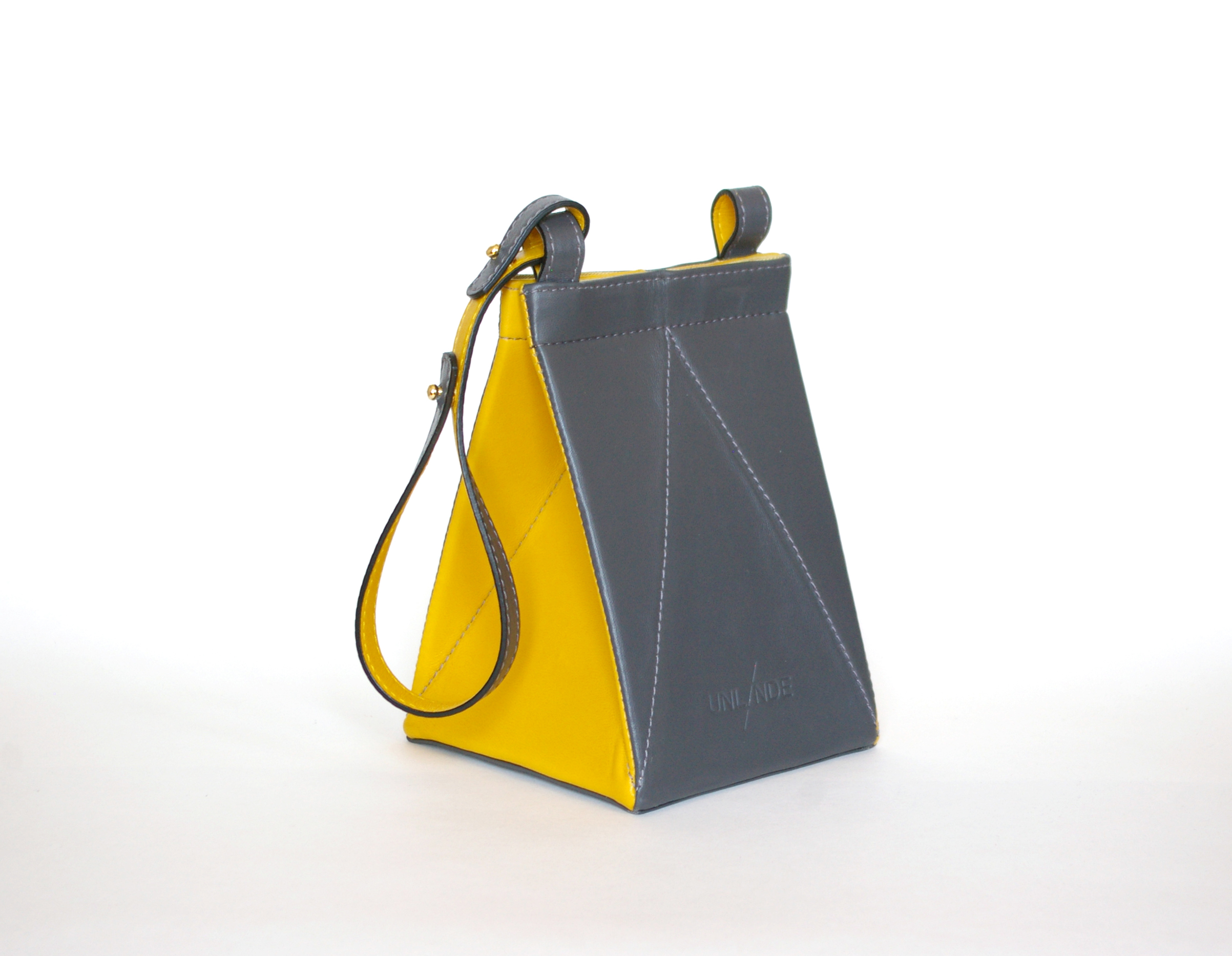 SOLD OUT  TETR4BAG Dark Grey/Yellow $360