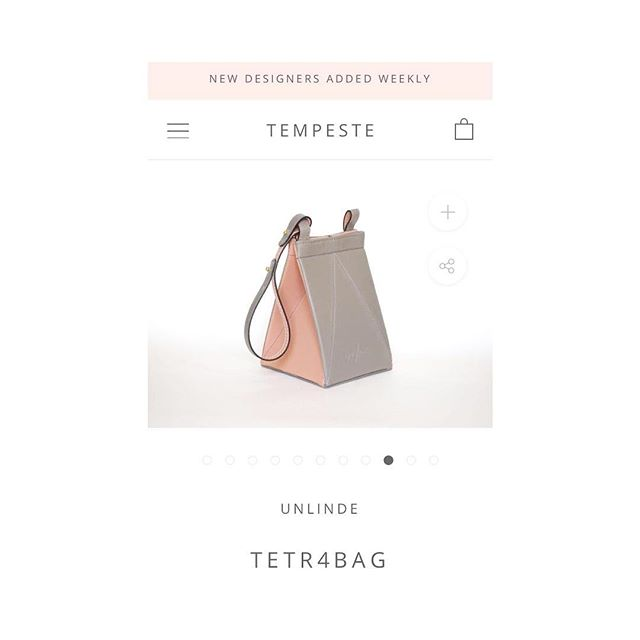 From now on you can also find us at @tempeste_fashion ;) Go check them out!
