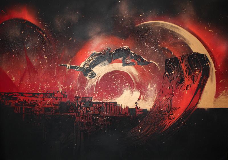 2015 - [SCAR CITY 4] - Flying highin Scarlet light-1.jpg