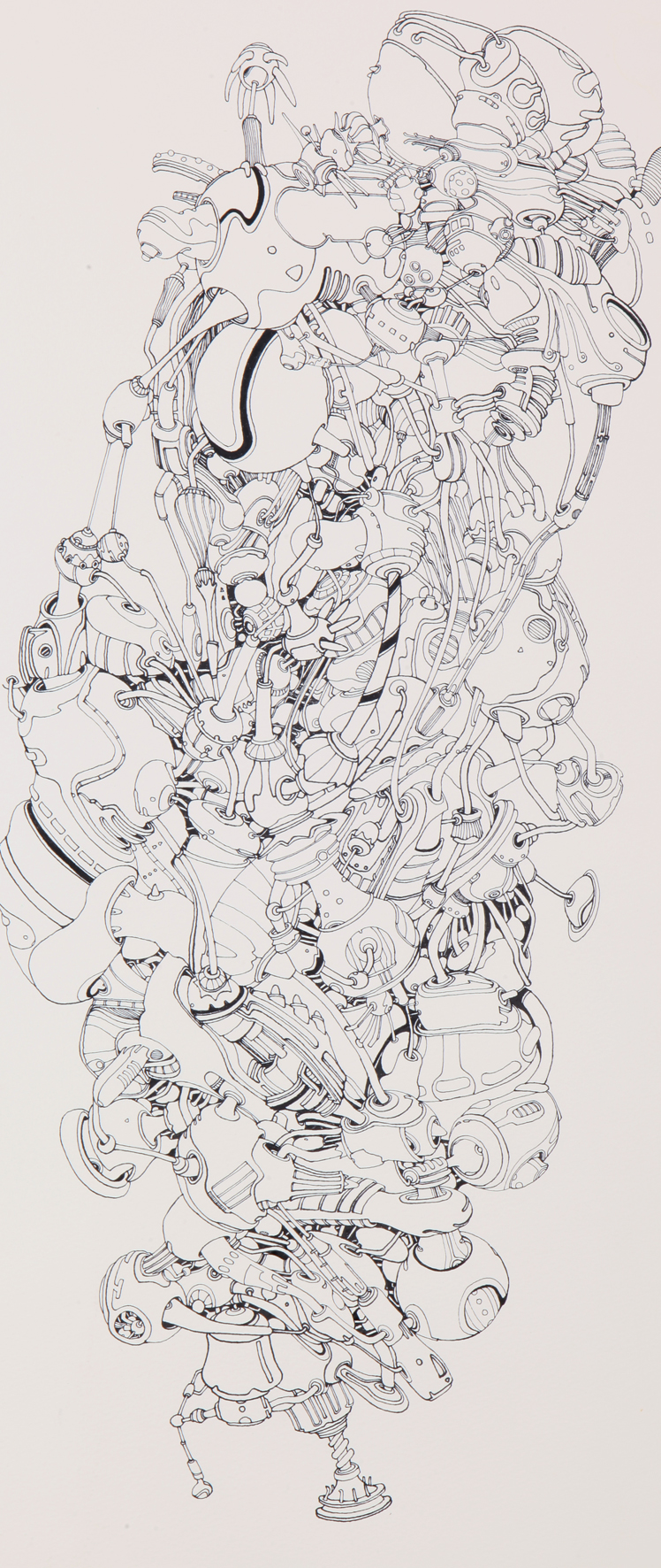 Strange planet 7 ink on paper 60x100cm 2010.jpg