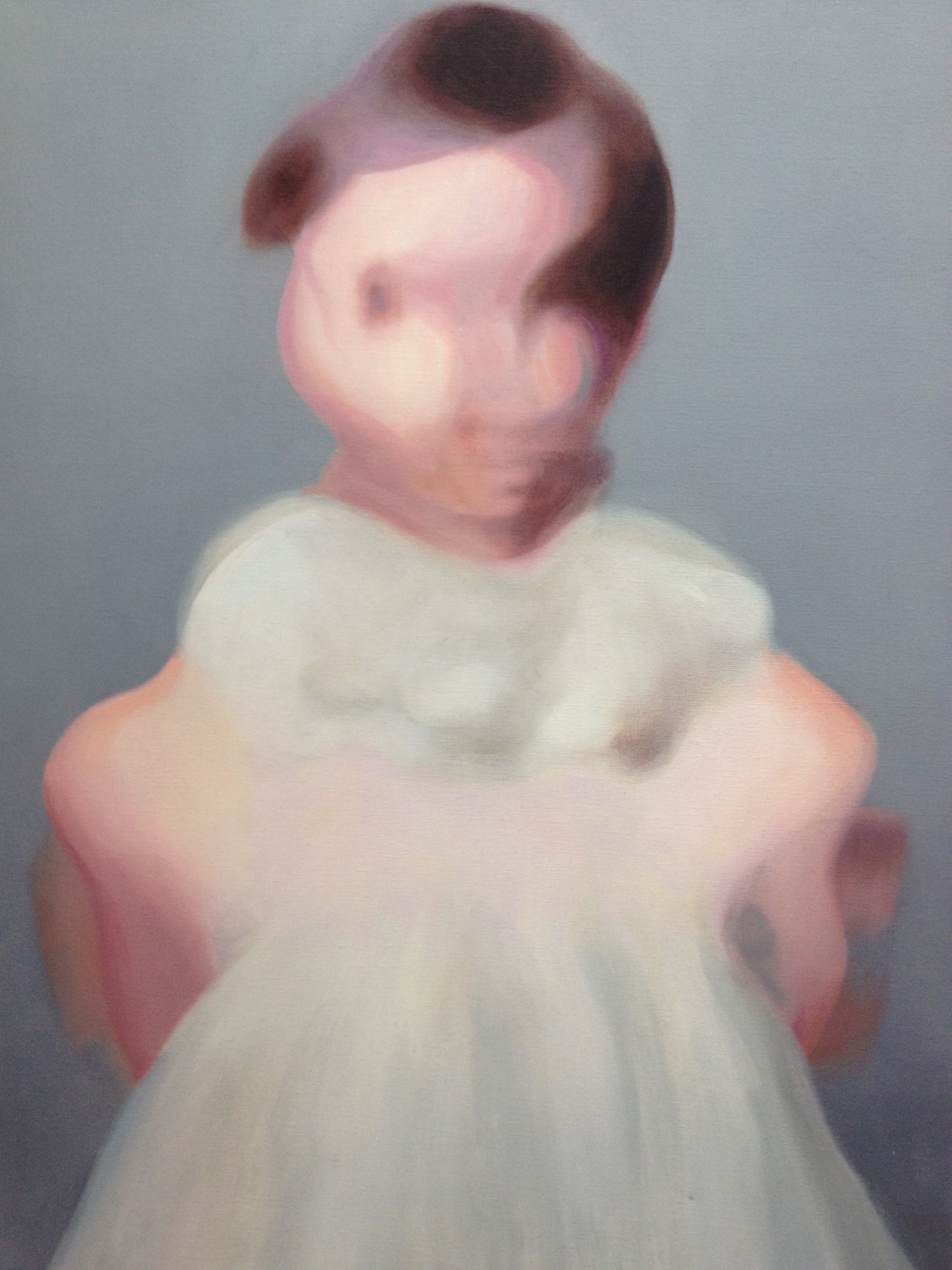 01.The Dress_Oil on canvas_2012_18x24,Nissenbaum.JPG