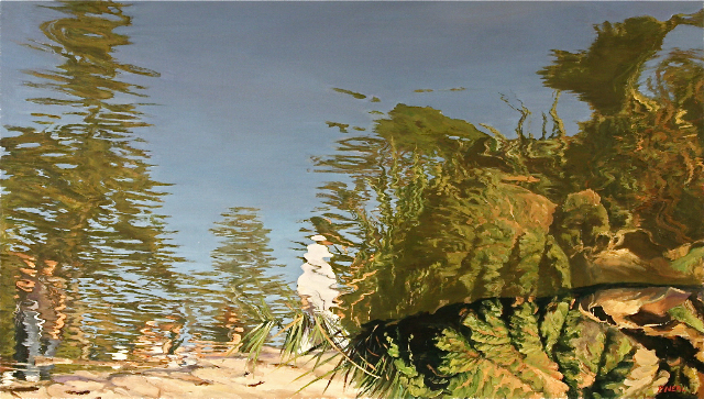 Pattty Neal_Going Under,  20 x 35, oil on linen.jpg