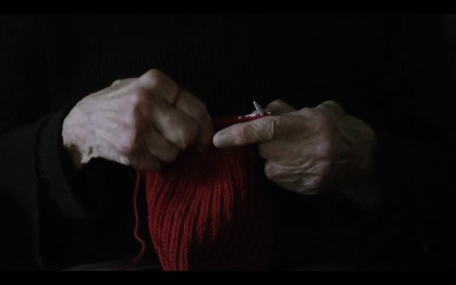 Suzanne Russell,  Mom Knitting