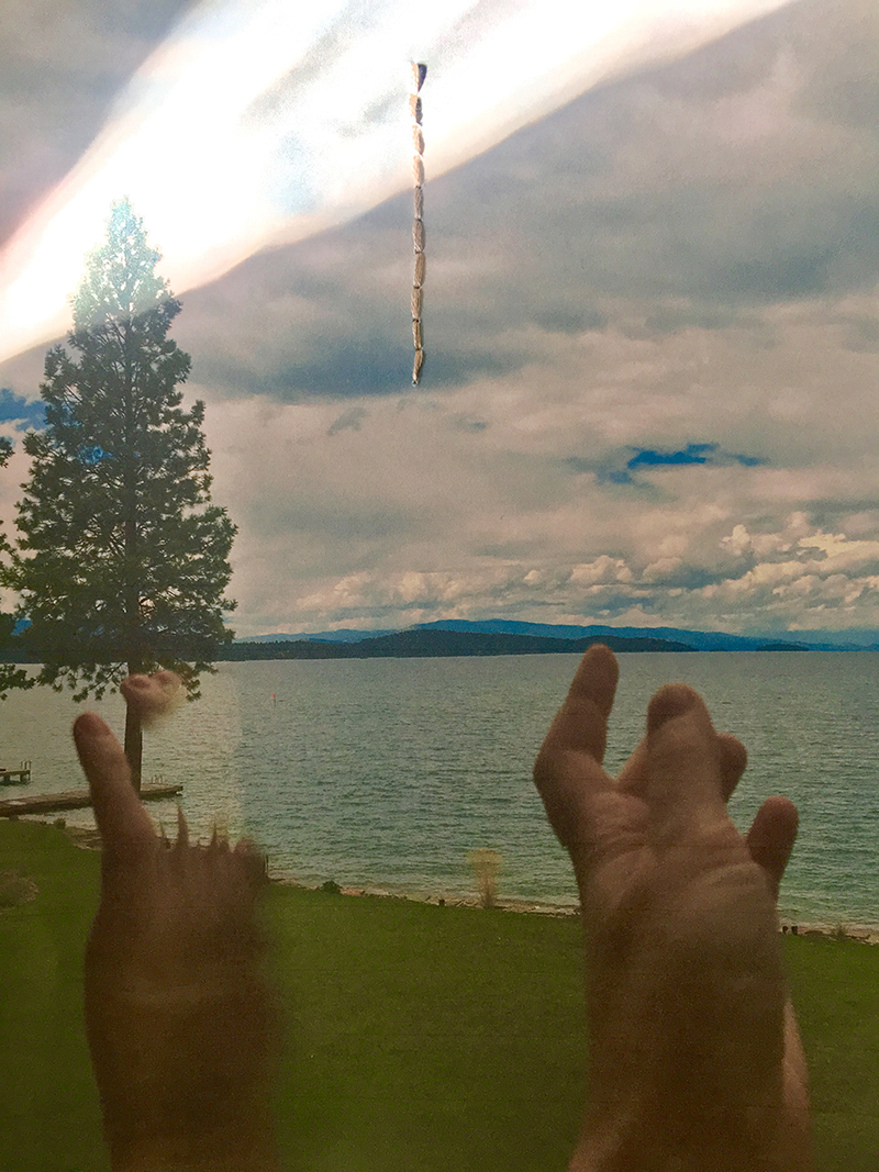 Reflecting on Mantana in Vermont (or how I first thought of loving you) , 2017, Digital C-PrintPhotograph,