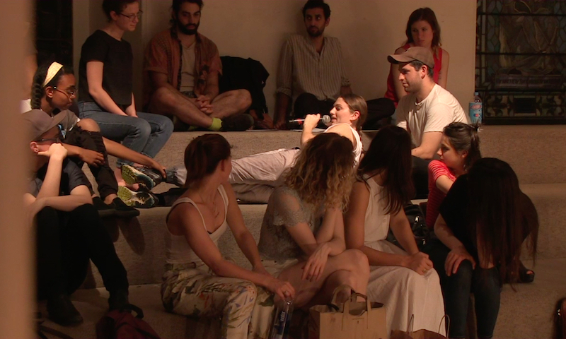 re: Nude in a Landscape , 2016, Performance, 50 min