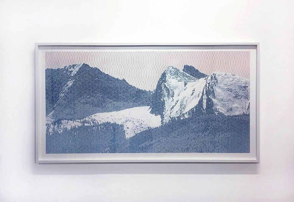 Landscape #10 , pigment print on paper,35 × 65 inches