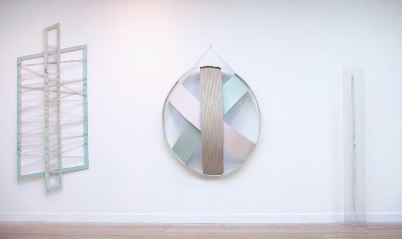 Light Gray Marsh, installation 2017, mixed media