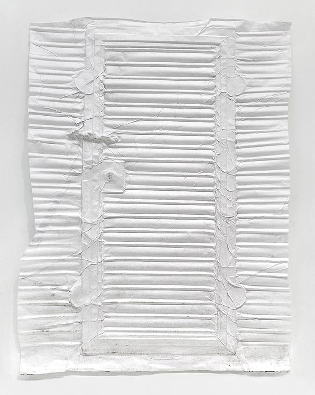 Cadena, cast Japanese paper, 105 x 165cm, 2017