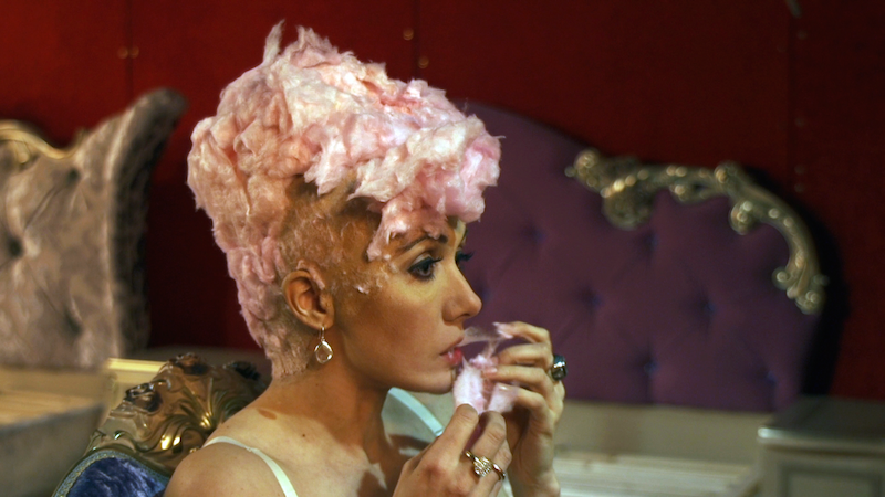 Cotton Candy, 2014, video still, 3 min