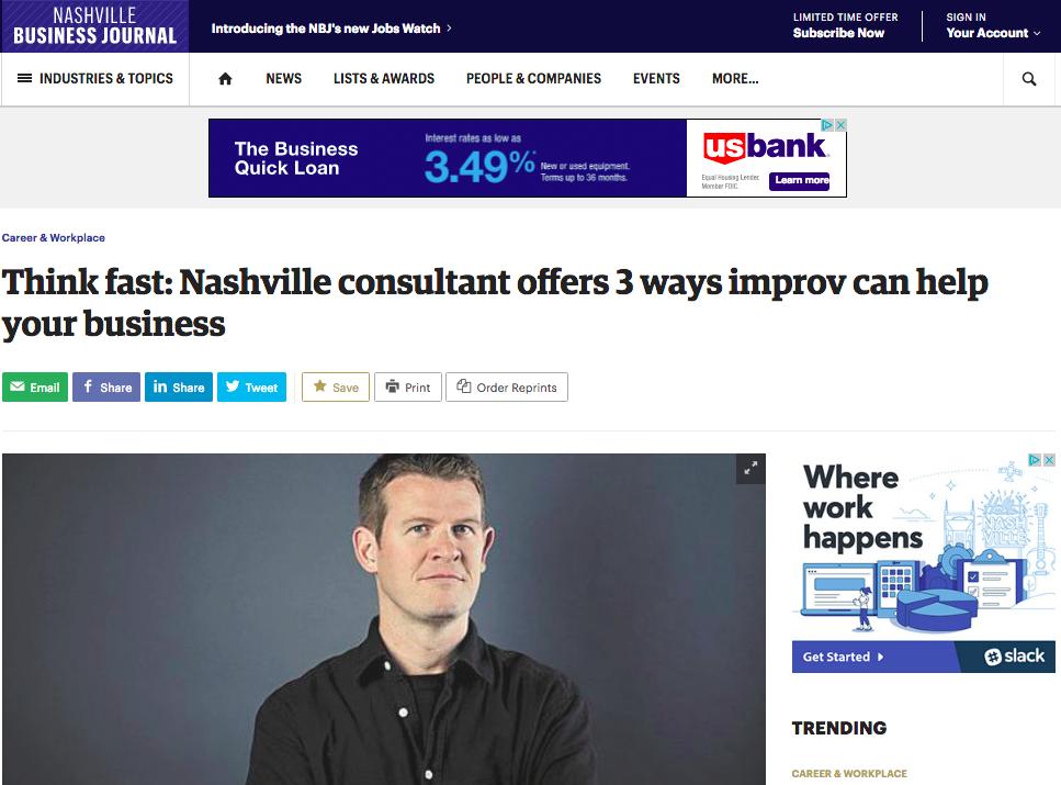 Reprinted from the  Nashville Business Journal  by Joel Stinnett - October 19, 2017.