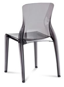 Phase Clear Modern Restaurant Chair