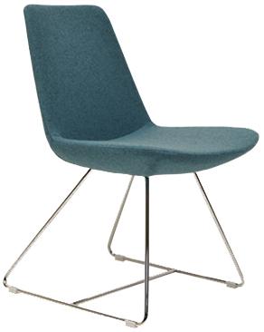 Bay Sled Modern Chair