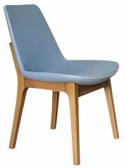 Bleu Wood Modern Restaurant Chair