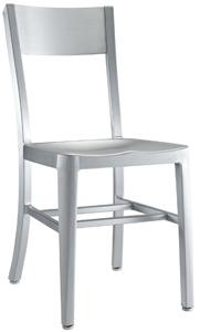 Tullip Modern Aluminum Restaurant Chair