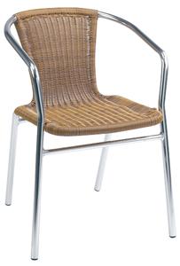 Modern Wicker Restaurant Chair