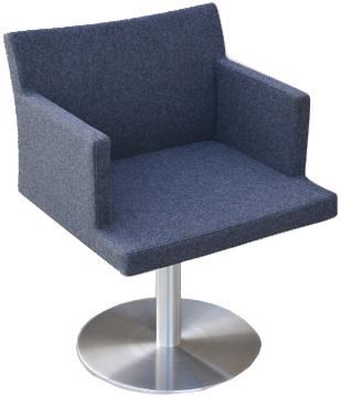 Echo Pedestaled Restaurant Chair