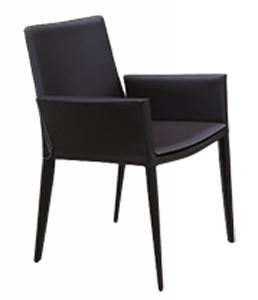 Cayenne Modern Leather Armchair