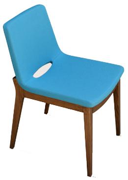 Curl Modern Wood Chair