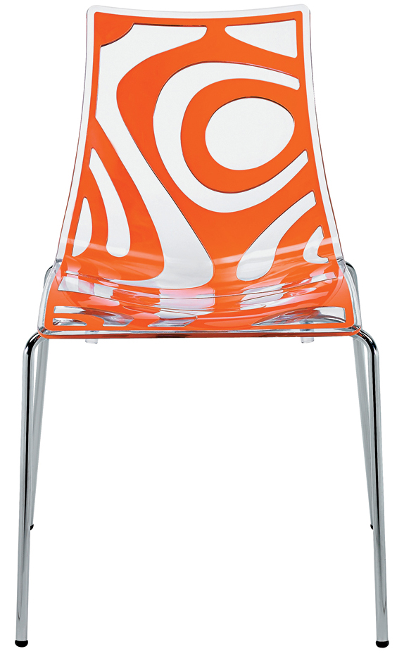 S Wave Modern Chair