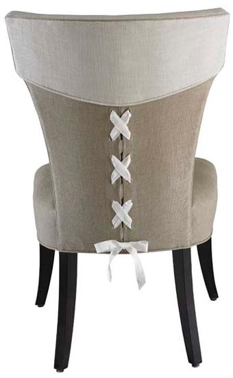 Elliston Upholstered Designer Side Chair