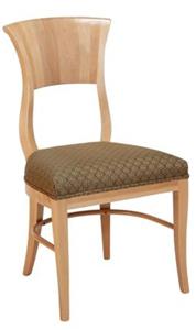 Medialuna Designer Restaurant Chair