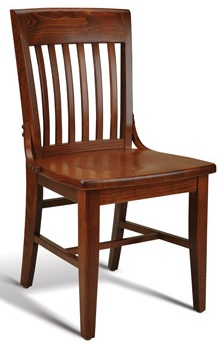 Library Straight Restaurant Chair