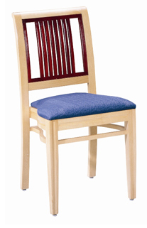 Lilac Designer Restaurant Chair