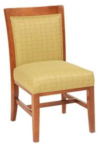 Crown Designer Restaurant Side Chair