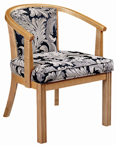 Concord Curved Restaurant Chair