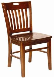 Library Slot Back Restaurant Chair