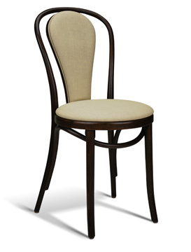 Interlace Padded Center Cafe Chair