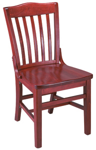 Camel-Back Library Restaurant Chair