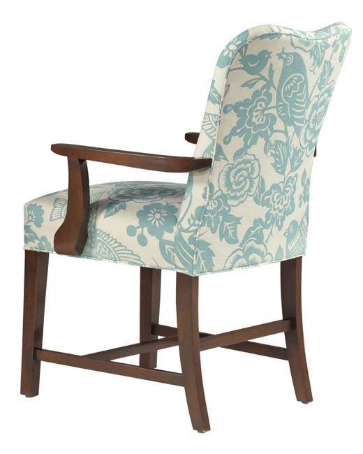 Sinclair Traditional Upholstered Armchair