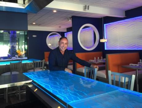 NYC Restaurant Design Fins Bar