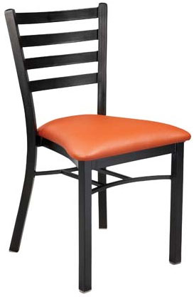 Dante Upholstered Metal Chair