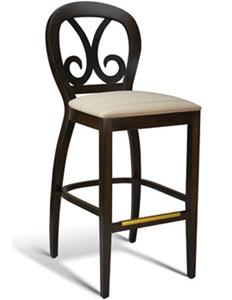 Pinewood Restaurant Designer Barstool