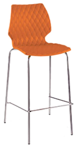 Soleil Quilted Modern Barstool