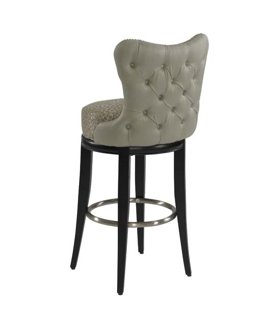 Cliche Tufted Designer Barstool