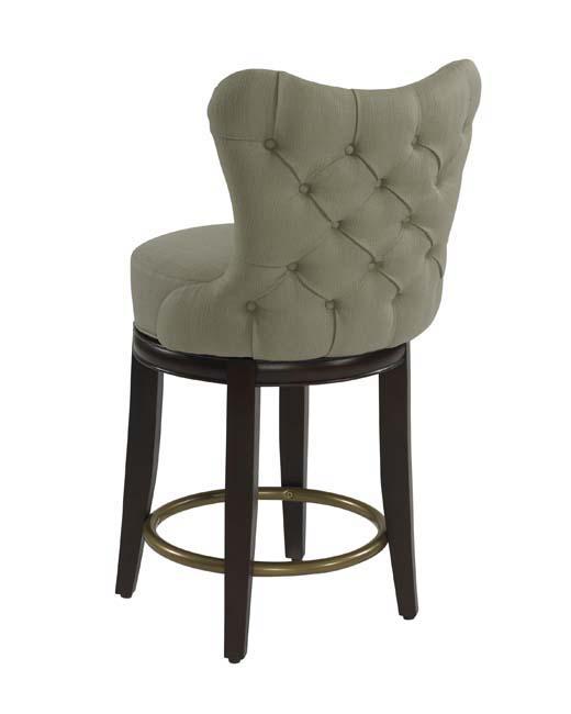 Cliche Upholstered Designer Counter-Stool