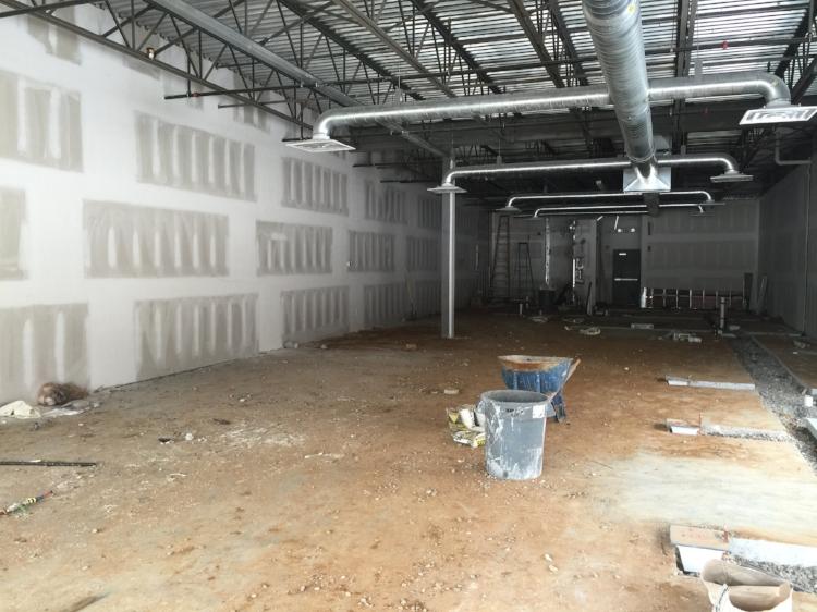 BEFORE Restaurant Construction  Cuzin's Clam Bar, Marlboro, NJ