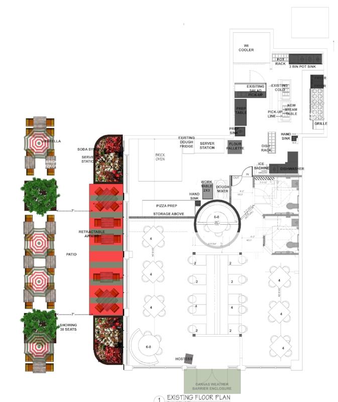 Restaurant Designer Floor Plan Via