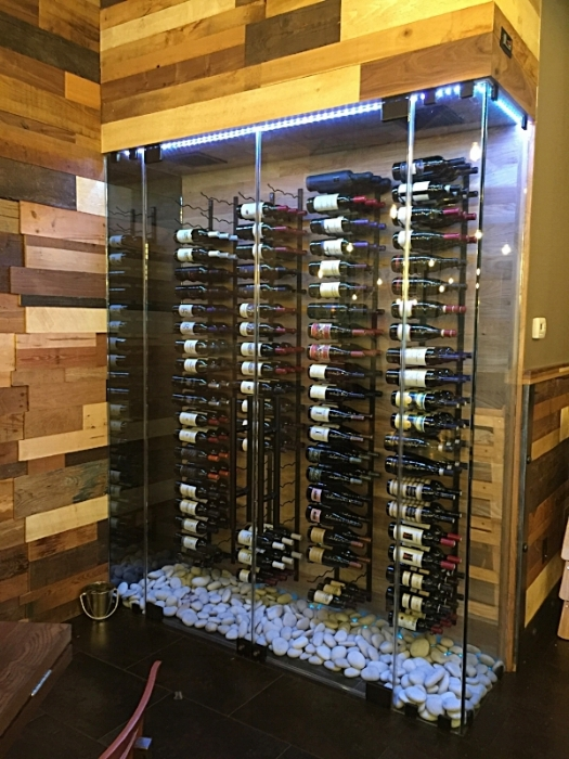 Wine Case Restaurant Design