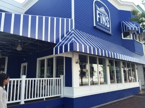 Fins Facade Cape May NJ