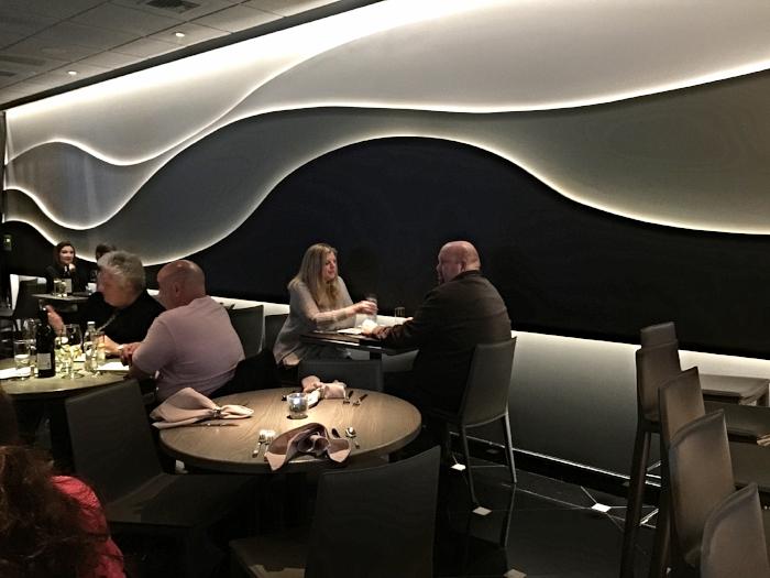 Raymond Haldeman Restaurant Designer's Wave Wall