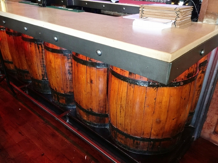 Wine Barrel Bar Design