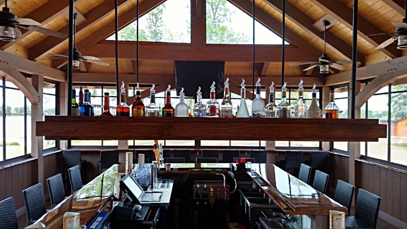 Lakefront Bar Designer Raymond Haldeman